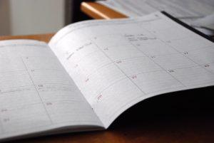 calendario psicología